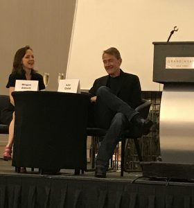 Megan Abbot and Lee Child