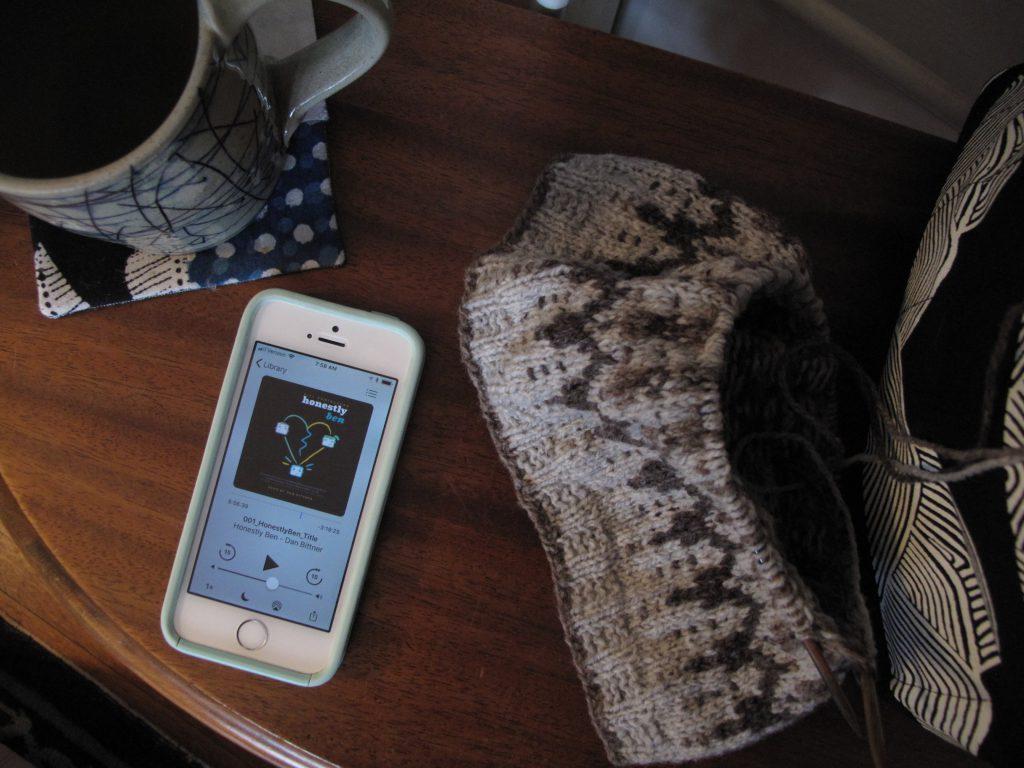 Jenn's Knitting and Listening