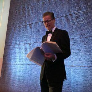 Simon Vance at Audies 2018