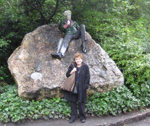 Oscar Wilde and Ellen Quint in Dublin