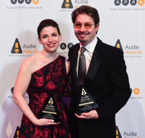 Julia Whelan and Edoardo Ballerini