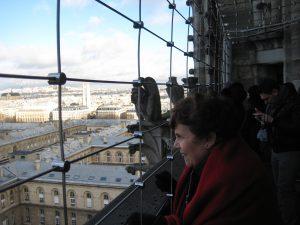 Ellen at Notre Dame