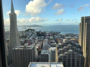 San Francisco through my hotel window