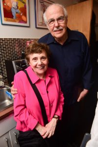 Ellen Quint and George Guidall