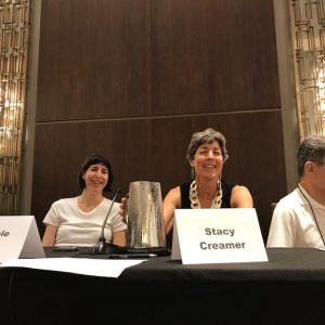 Michele Cobb and Stacy Creamer at Thrillerfest 2019