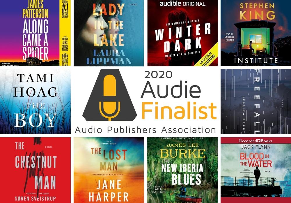 2020 Audie Finalist Mystery Thriller Suspense