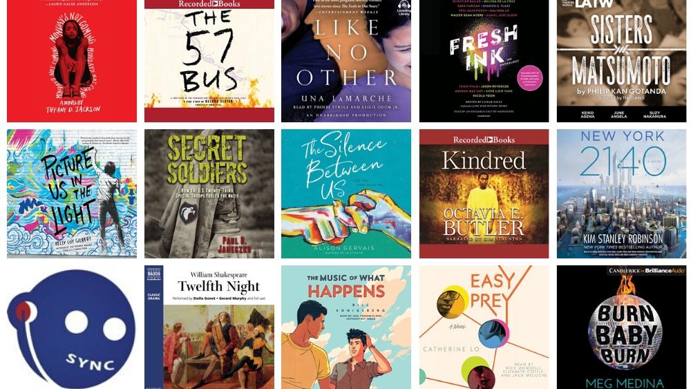 SYNC Summer Audiobooks for Teens