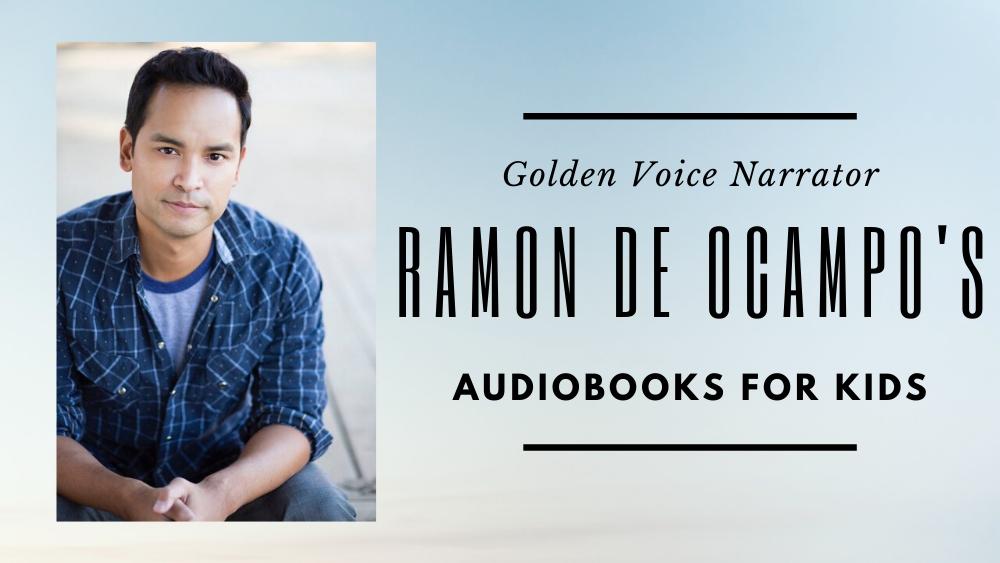Golden Voice narrator Ramon de Ocampo's audiobooks for kids