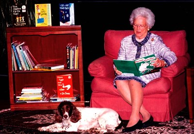 Barbara Bush by Chandler Arden, Specialties Photography