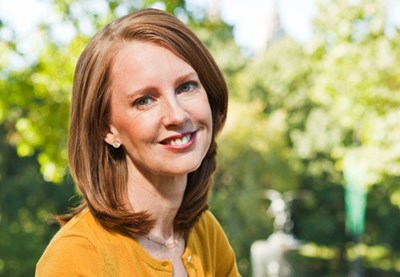 Author Gretchen Rubin, photo by Michael Weschler