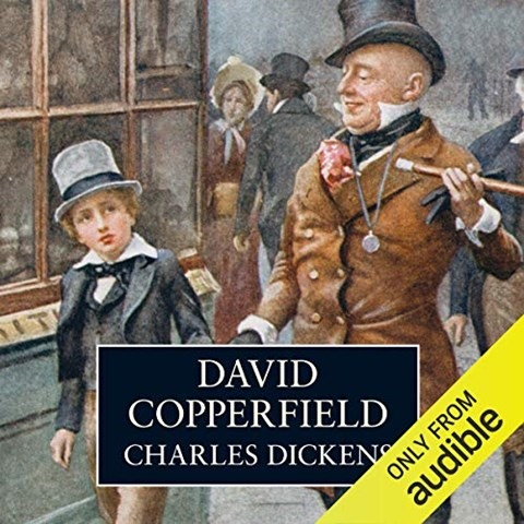 David Copperfield narrated by Martin Jarvis