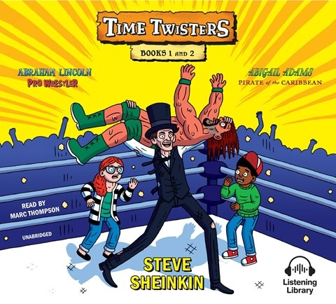 TIME TWISTERS: BOOKS 1 & 2