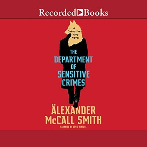 THE DEPARTMENT OF SENSITIVE CRIMES, read by David Rintoul