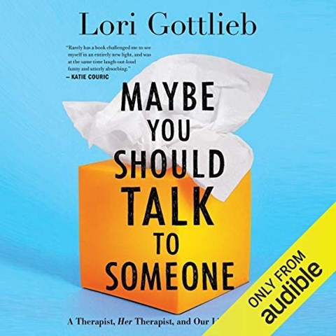 MAYBE YOU SHOULD TALK TO SOMEONE, read by Brittany Pressley