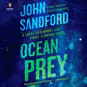 OCEAN PREY by John Sandford, read by Richard Ferrone