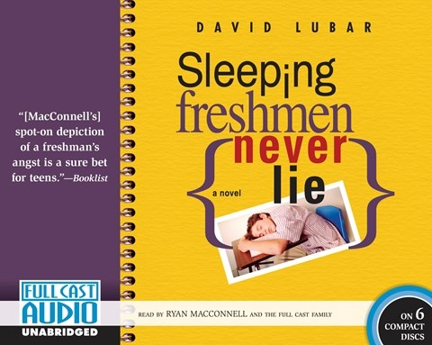 Sleeping Freshmen Never Lie Topics for Discussion