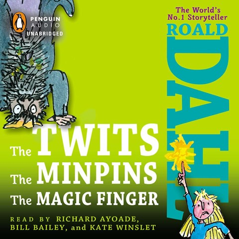 THE TWITS, THE MINPINS, & THE MAGIC FINGER